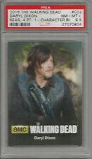 2016 The Walking Dead Daryl Dixon Season 4 Pt. 1 PSA 8.5 Poster Card