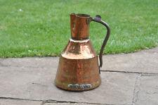 Antique copper jug old metal jug pitcher peut conteneur d'eau-livraison gratuite