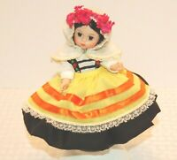 """Madame Alexander 8"""" International Collectible Doll Greece with box"""