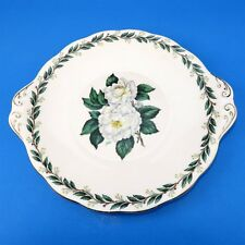 "Royal Albert Lady Clare Cake Plate 9 7/8"""