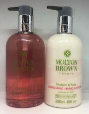 Molton Brown Delicous Rhubarb & Rose Fine Liquid Hand Wash & Body Lotion 300ml