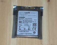 """Toshiba mk1229gsg/MK 1229 GSGF 120 Go Internal 5400 tr/min 1.8"""" HDD New"""