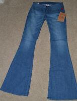 NEW TRUE RELIGION SARENA Trouser Jeans Pants Denim $180 Looking NWT