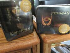 ARTBOX LORD OF THE RINGS RETURN OF THE KING & THE TWO TOWERS LOT OF(4) TINS!!!