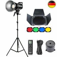 Godox SL-60W 5600K LED Lampe Videoleuchte Beleuchtung + BD-04 Barndoor + Stativ