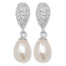 Orecchini di lusso perli zircone