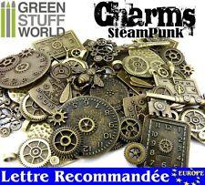 Traditionnel Steampunk Machine Mechanical Rouages Horloges Imprimé T-Shirt