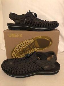 Keen Uneek Flat Raven/Ink Blue Sport Sandal Men's Sizes 8-14/NEW!!!