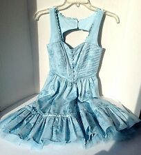 Alice in Wonderland:Through the Looking Glass Dress Costume Halloween New sz XS