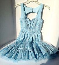 Alice in Wonderland:Through the Looking Glass Dress Costume Halloween New sz XS