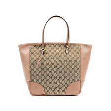 057bd2733c0 GUCCI Original GG Top Zipper Tote Handbag    Brand New