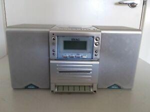 TEAC Micro Hi-Fi System MC-D74 Stereo CD Cassette Radio *CD Not Working*