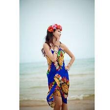 Summer Women Bathing Suit Bikini Swimwear Cover Up Beach Dress Sarong Wrap Pareo