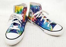 Converse Size 1 Youth All Star Hi Tie Dye Sneaker