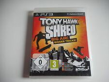 PS3 - TONY HAWK SHRED ( avec notice )