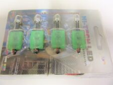 GREEN LEDs (Single Lights) 4 Individual LEDS per pack