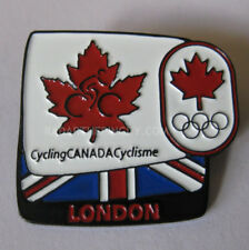 2012 London Summer Olympic Canada Cycling COC Pin