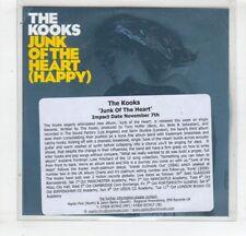 (HM576) The Kooks, Junk Of The Heart (Happy) - DJ CD