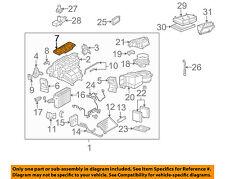 MERCEDES OEM 01-05 C320 3.2L-V6 Evaporator Heater-Seal 2038350698