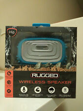iHip Rugged Wireless Bluetooth Speaker Blue BRAND NEW, UNOPENED