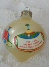 1986 HALLMARK ORNAMENT BABY-SITTER BEING THE BEST FRIEND A CHILD COULD EVER HAVE