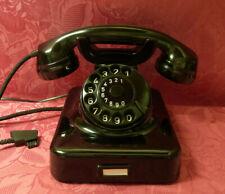 Jubiläum! 60! W48 Telefon Bakelit  HEIBL Fernsprecher Telephone  W48 WIE NEU!