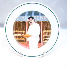 Guy Buffet L'ETALAGE COLLECTION The Shopkeepers 'Bread Maker' Salad Plate EXC