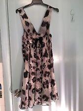 Peter Alexander leopard print dress in size M