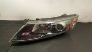 12 13 KIA OPTIMA HALOGEN LEFT SIDE HEADLIGHT OEM 92101-2T121
