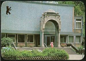 Judaica Germany Berlin Jewish Community Center German Postcard 1980s Unused