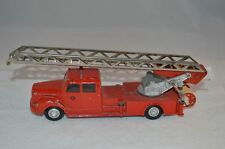 Tekno Denmark 445 Scania-vabis 76. Fire truck with ladder  .1960's.