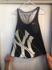 NY Yankees Nike Womens Athletic Cut Tank top Tee Sz Small Sri-fit (#7)