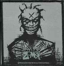 WHITE ZOMBIE X head 2010 WOVEN PATCH official merch ROB ZOMBIE no longer made