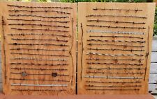 Antique Barbed Wire Collection - Ranch Farm Western Cowboy Pat.1800's 40pcs 2Bds