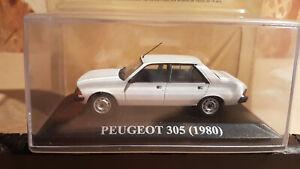 ixo 1-43ème (chères voitures d'antan) - peugeot 305 (1980)