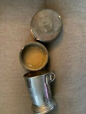 Vintage Home Insurance Co Collapsible Cup in Case