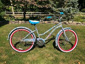 Lilly Pulitzer Limited Edition Beach Cruiser Bicycle Bike Van Dessel 2011 Blue