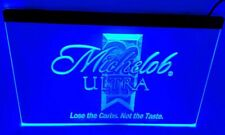 Michelob Ultra Bar Beer pub club 3d signs Led Neon Sign man cave