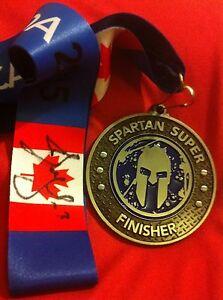 Alexei Alex kovalev Canadiens Hockey Champion Signed Spartan Race Super Medal
