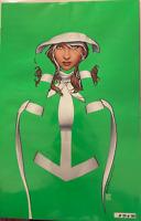 Uncanny X-Men #21 JTC EXCLUSIVE   Rogue 300 print Artist Proof Negative Space