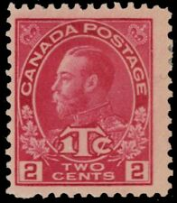 "CANADA MR3b - King George V ""Admiral"" War Tax Die Rose Red Die I (pf88000)"