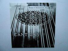 LP CANTIGAS 13e au 16e siècle Groupe d'Instruments Anciens