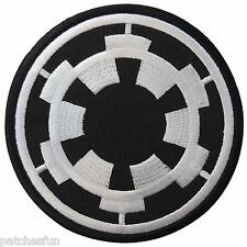"""3 1/2"""" Star Wars Imperial Forces COG TIE Fighter Pilot Storm Iron on Patch #1417"""