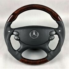 AMG SL55 CLS55 CLK55 E55 Performance Lenkrad Holz bois new walnut steering wheel