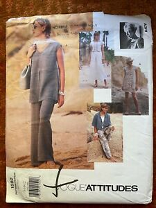 Vogue pattern V1592 - Adri- tunic, top skirt, pants(bm)