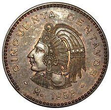 Mexico 50 Centavos coin 1959  KM#450 XF-AU