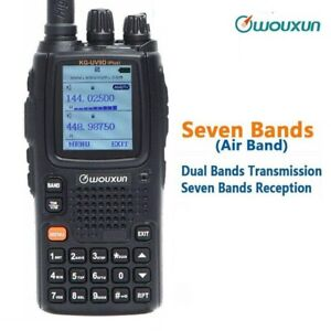 Wouxun KG-UV9DPlus Cross Band Repeater Seven Bands Reception Including FM Radio