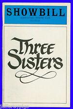Playbill + Three Sisters + Bob Balaban , Jeff Daniels , Christine Ebersole