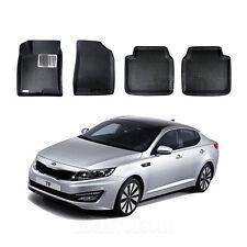 Clean Car Mats Front & Rear Set(4Pcs) for 2011 - 2013 Kia Optima K5