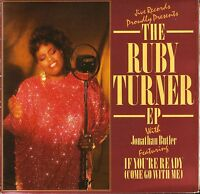 "RUBY TURNER/JONATHAN BUTLER the ruby turner ep (if you're ready) gatefold 7"" PS"